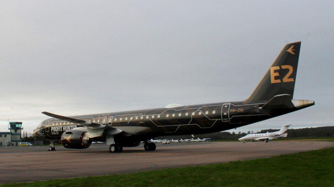 Embraer's Profit Hunter lands at London Oxford Airport