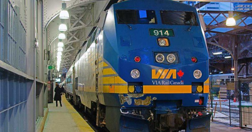 VIA Rail Update در پاسخ به COVID-19