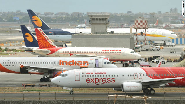 """Indie se po uzemnění všech vnitrostátních letů stane """"bezletovou zónou"""""""