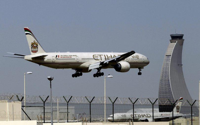 Společnost Etihad Airways uzemňuje všechny lety SAE