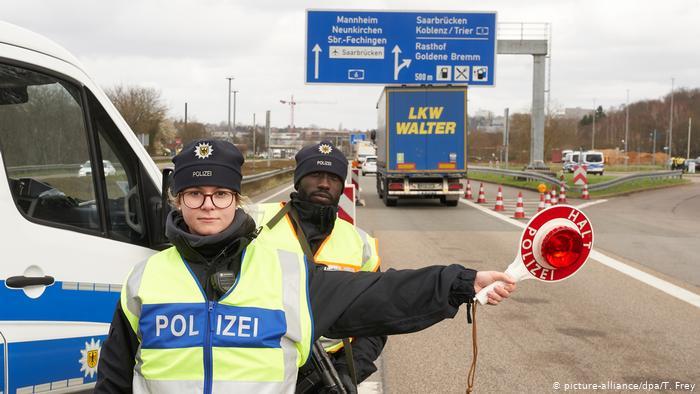 Alemania está cerrando fronteras