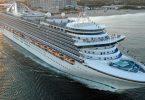 سوم کشتی کشتی کروز پرنسس برای COVID-19 قرنطینه شده است