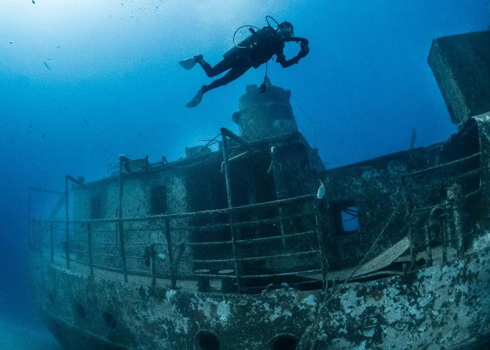 جزیره Grand Bahama به عنوان مقصد محبوب غواصان باز می گردد