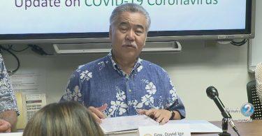Warnung des Gouverneurs von Hawaii, Ige Coronavirus: Vermeiden Sie Reisen in den Bundesstaat Washington