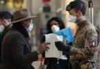 Italská cestovní omezení nyní celostátní