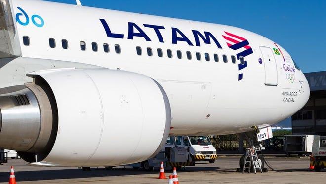 LATAM sil allinich USA en Chile Service trochgean