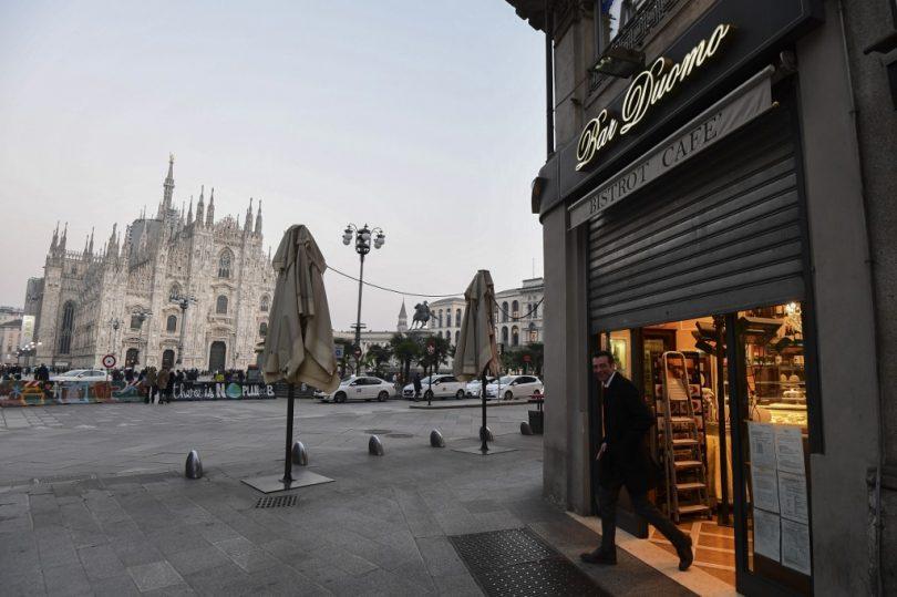 Milano og Venedig: Ingen vej ind eller ud, 10-16 millioner mennesker