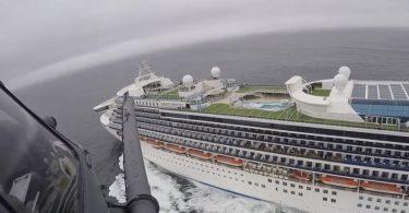 WHPrincess Cruises kaptajn John Smith fortalte passagerer?