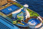Royal Caribbean Cruises faciligas kaj senpagan nuligon