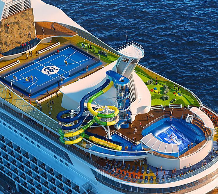 Royal Caribbean Cruises dia mahatonga ny fanafoanana ho mora sy maimaim-poana
