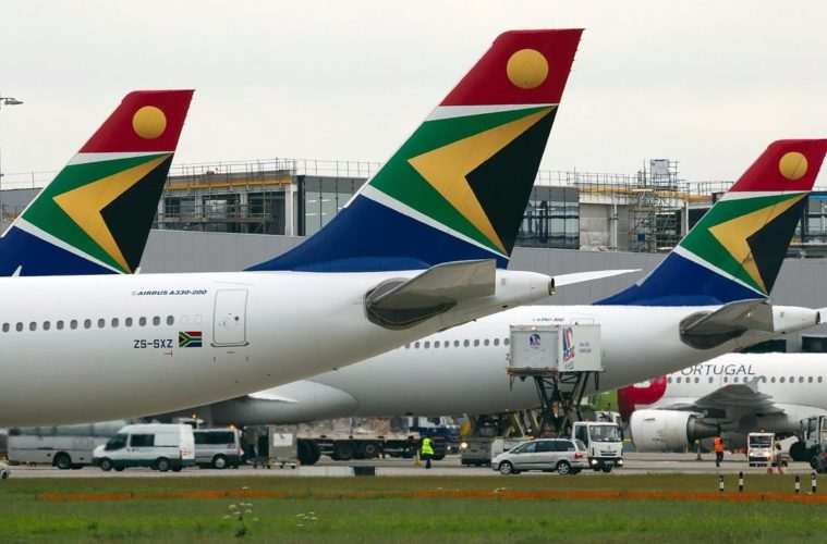 South African Airways suspends operations at its North America Regional Office