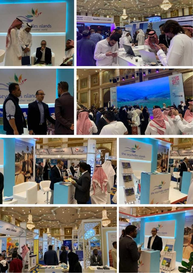 The Seychelles showcased in Jeddah Intl. Travel & Tourism Exhibition
