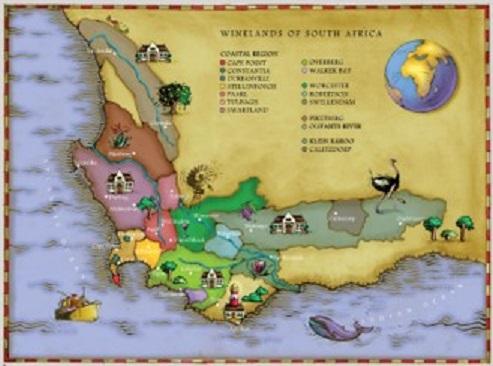 ماجراهای شراب آفریقای جنوبی