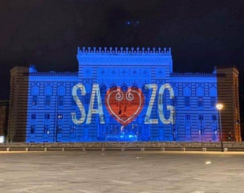 Sarajevo nezapomíná na své přátele a to znamená Záhřeb