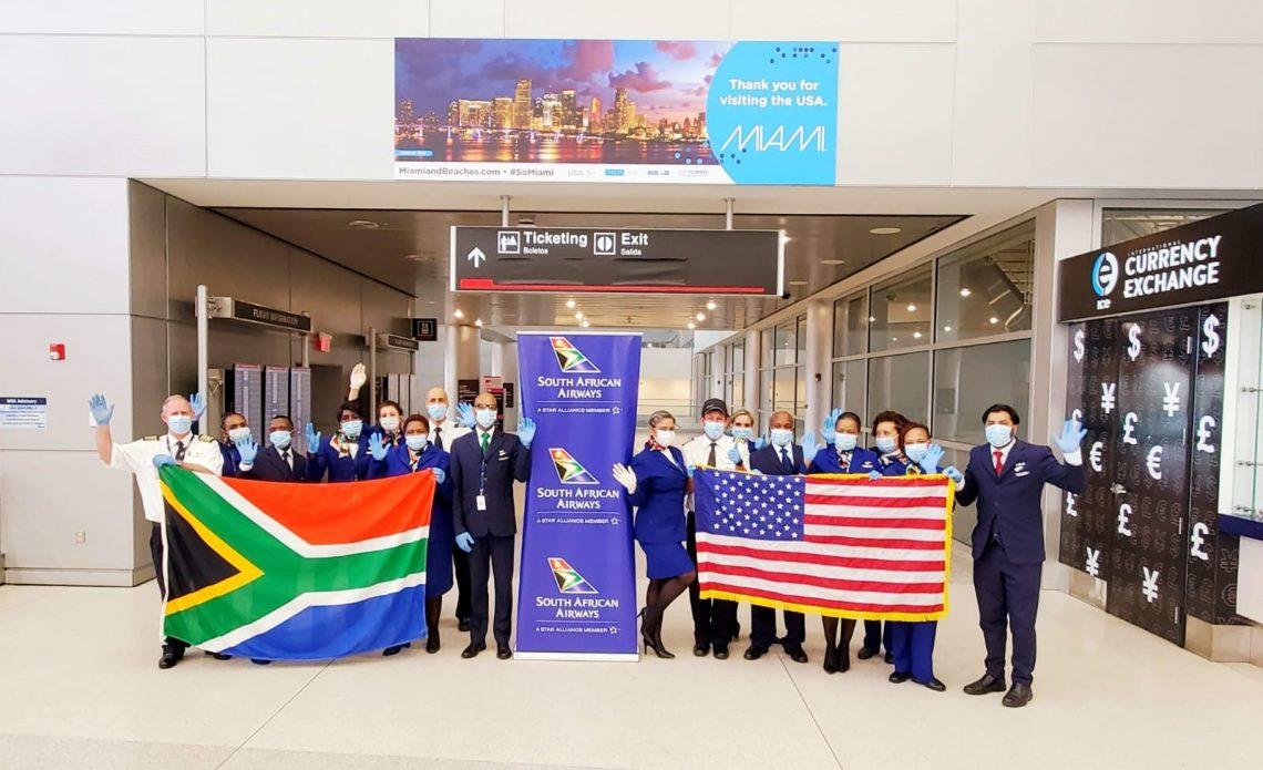 South African Airways memindahkan warga Afrika Selatan yang terdampar dari Miami
