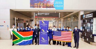 दक्षिण अफ्रीकी एयरवेज ने मियामी से दक्षिण अफ्रीका के फंसे हुए लोगों को निकाला