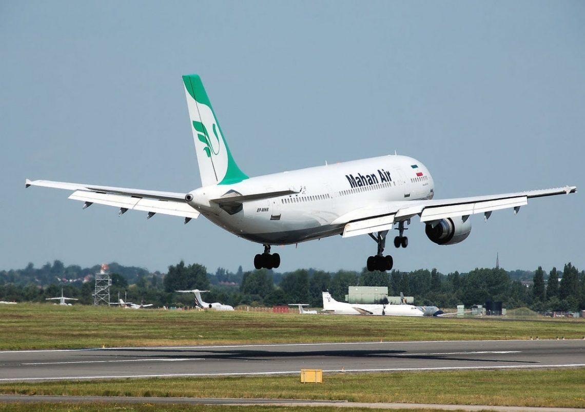Spanyol nglarang Mahan Air Iran saka wilayah udharane
