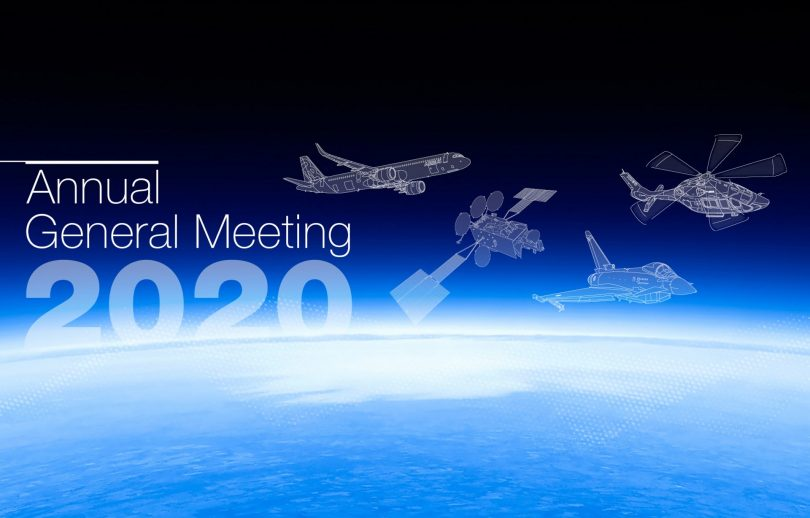 Akcionáři Airbusu volí na výroční valné hromadě 2020 dva nové ředitele