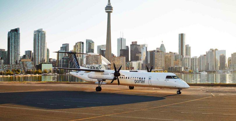 خطوط هوایی Porter از برنامه یارانه ای دستمزد فدرال کانادا استفاده می کند