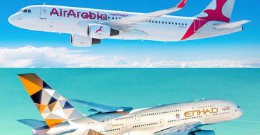 Ass Air Arabia-Etihad gemeinsame Budgetsfluchgesellschafte vun Ufank un ausgefall?