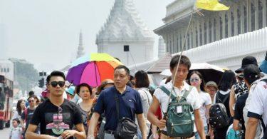 چین قرار است از ماه آگوست بهبود گردشگری تایلند را رهبری کند
