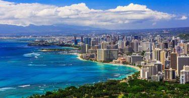 کیفیت هوای هاوایی یکی از تمیزترین ها در ایالات متحده آمریکا است