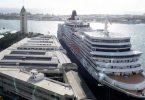 Luksa kroza linio Cunard etendas paŭzon al vojaĝoj
