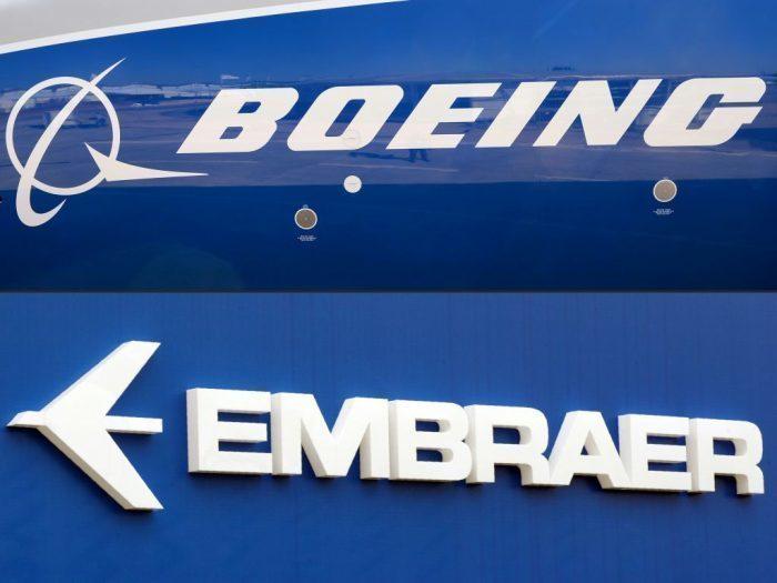 Boeing розриває угоду про створення спільних підприємств з Embraer