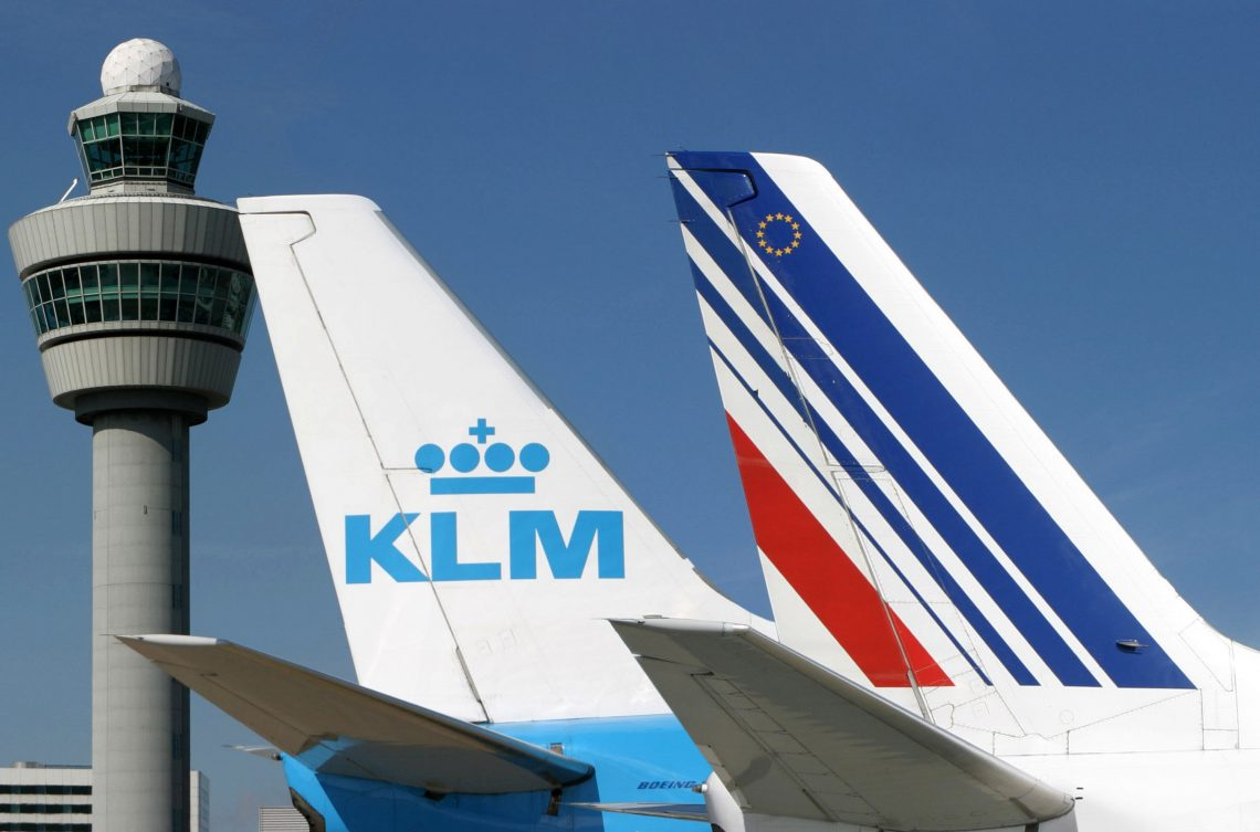 Frankryk en Nederlân leverje € 11 miljard oan 'needhelp' oan Air France-KLM