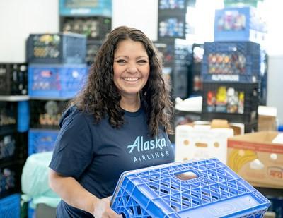 Alaska Airlines spouští novou výzvu, aby nakrmila rodiny v nouzi