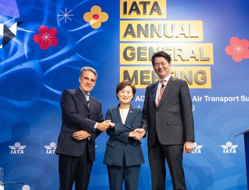 आईएटीए कैंसल 2020 एजीएम और वर्ल्ड एयर ट्रांसपोर्ट समिट