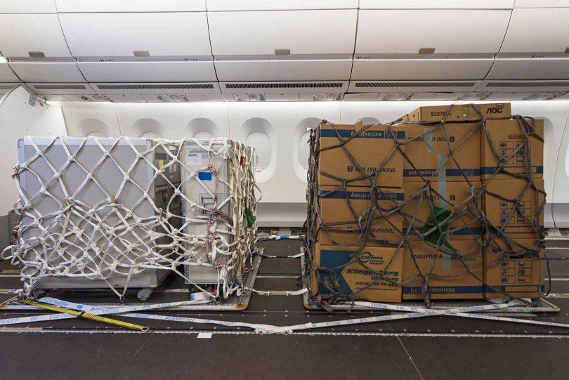 ایرباس هواپیماهای A330 و A350 را برای عملیات بار COVID-19 اصلاح می کند