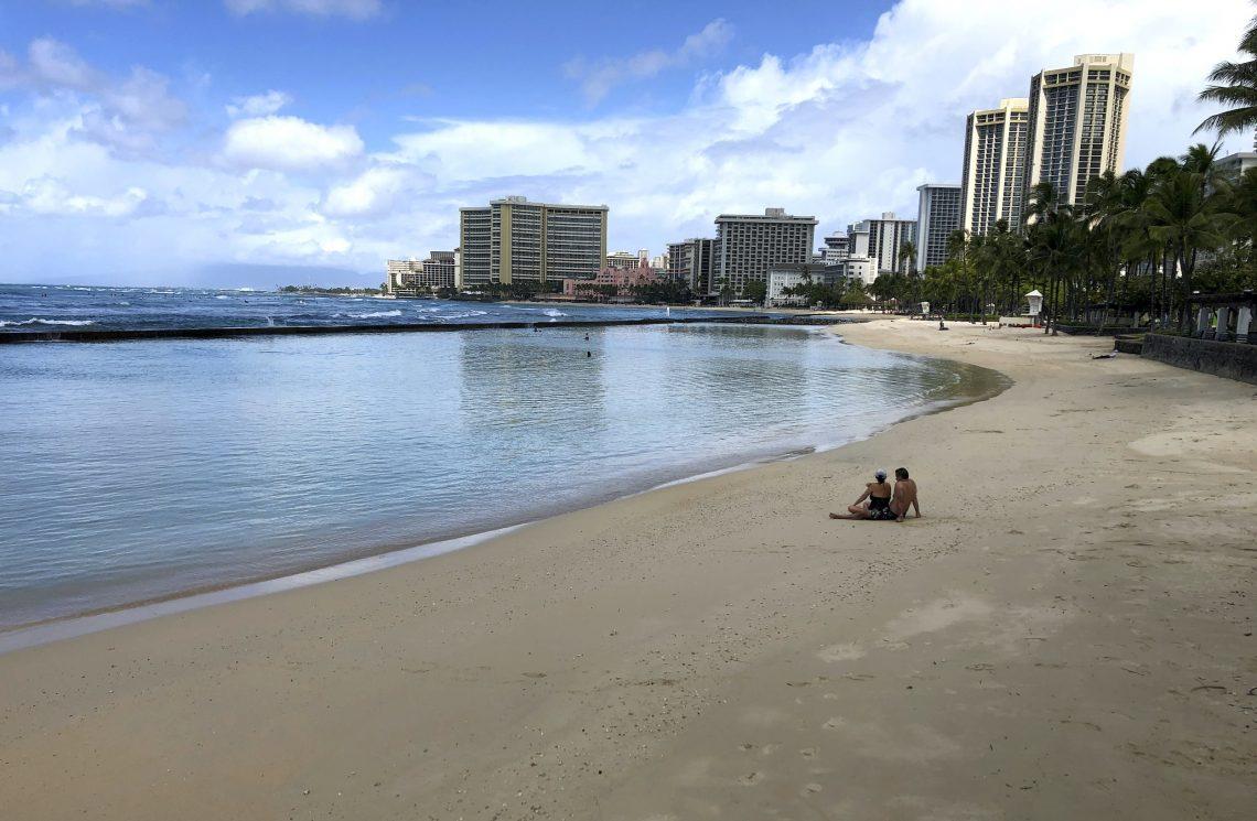 Turizam na Havajima: dolasci posjetitelja koji troše manje od 50 posto