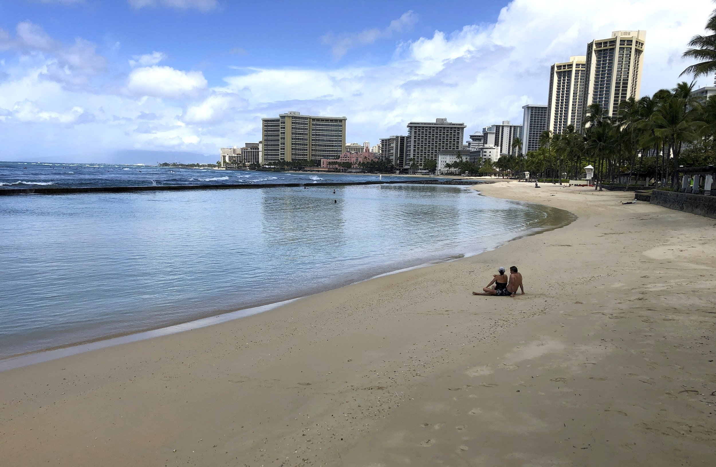 Hawaii Tourism: Visitor arrivals, spending down more than 50 percent