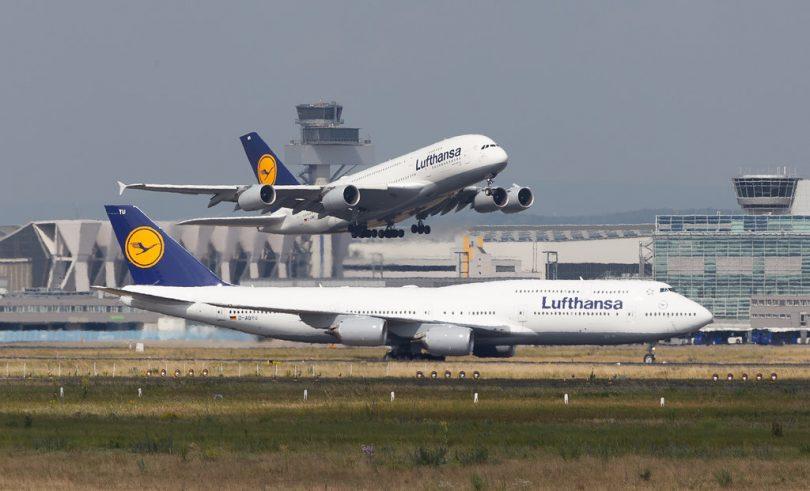 Lufthansa– ի տասը ջամբային ինքնաթիռներ ՝ Նոր alandելանդիայից գերմանացի զբոսաշրջիկներին տարհանելու համար