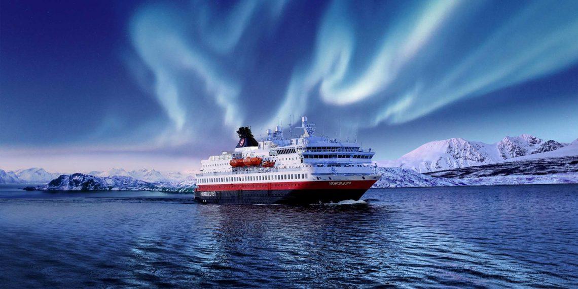 يمتد خط الرحلات الاستكشافية Hurtigruten لتعليق العمليات