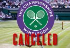 Wimbledon 2020 cancelled over coronavirus epidemic