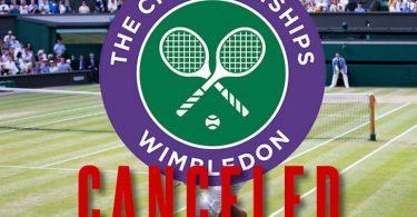 Wimbledon 2020 zrušen kvůli epidemii koronavirů