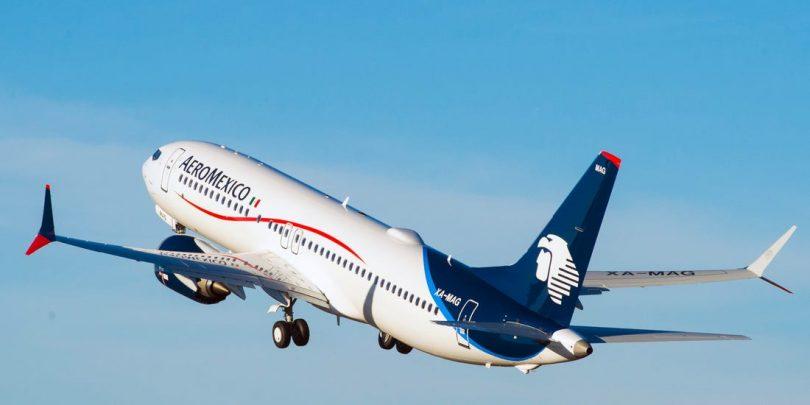 Aeromexico: Počet cestujících v březnu poklesl o 41.5%