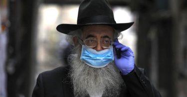 Израел да направи маски COVID-19 за религиозни православни, пријателски набрадени на брада