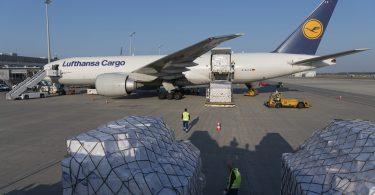 Lufthansa apporte huit millions de masques de protection à Munich