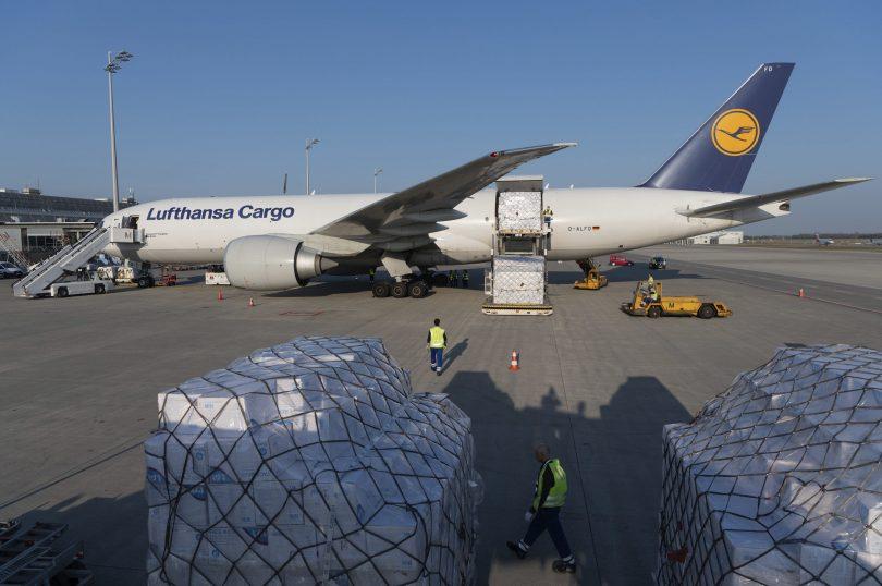 Lufthansa- ն ութ միլիոն պաշտպանիչ դիմակ է բերում Մյունխեն