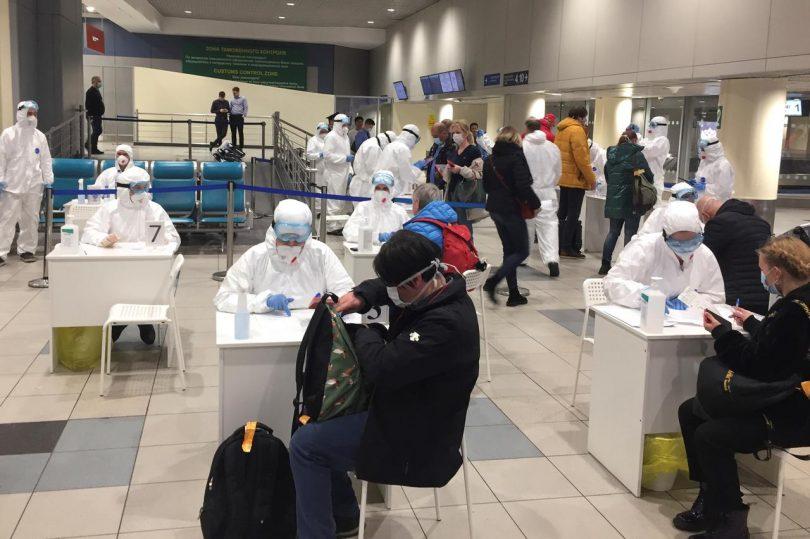 Letiště Moskva Šeremetěvo: Zastavení dovozu a šíření COVID-19
