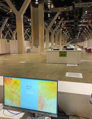 Nation's largest Convention Center converted into COVID-19 Alternate Care Facility