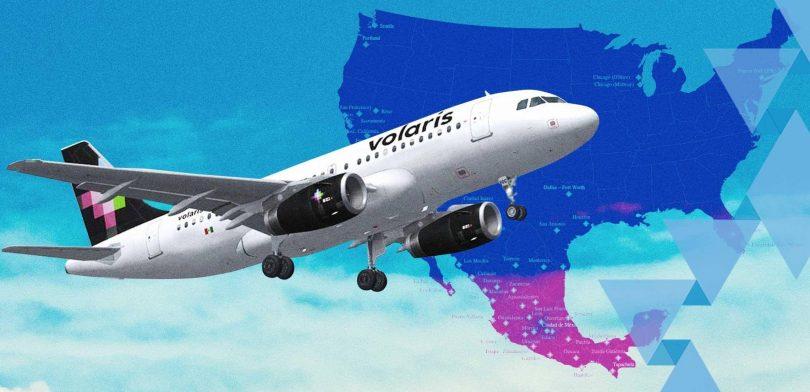 Մեքսիկայի Volaris- ը կրճատում է հզորությունը մինչև 80%