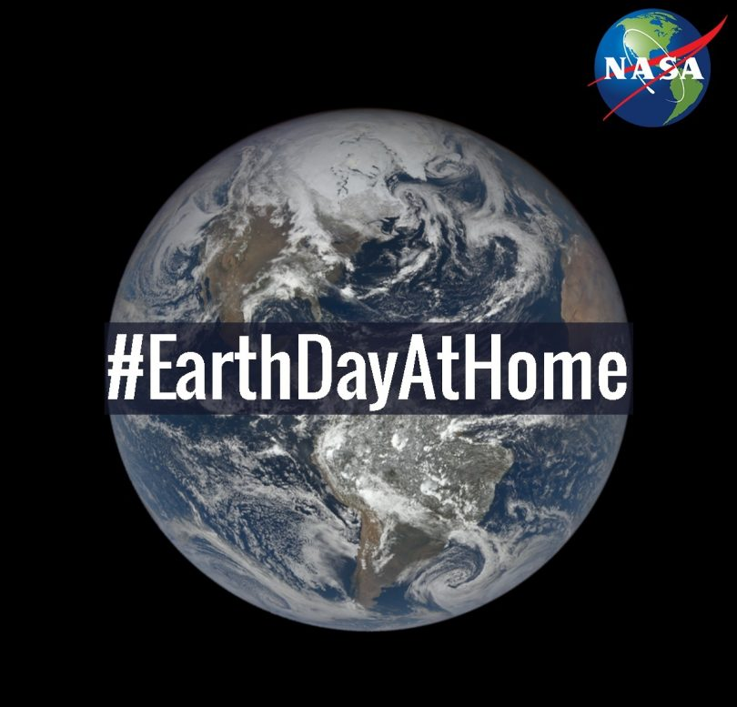 NASA marks 50th anniversary of Earth Day with #EarthDayAtHome
