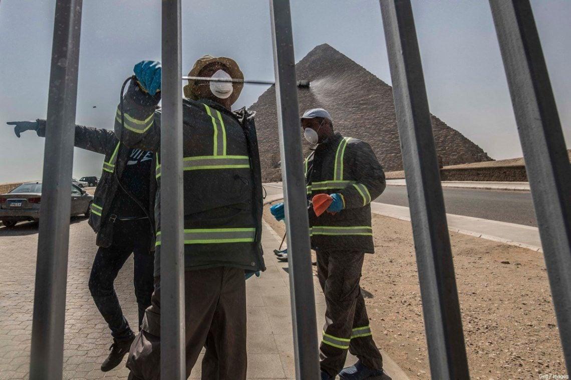 COVID-19 будзе каштаваць турызму ў Егіпце 1 мільярд долараў у месяц