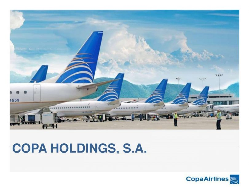 Copa Holdings: March capacity down 35.7%, passenger traffic down 43.4%