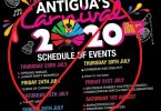 Nofoanana ny karnavaly Antigua noho ny COVID-19