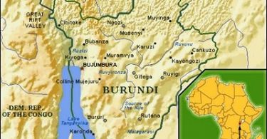 भगवान ने बुरुंडी को पसंद किया है ताकि अफ्रीका के बाकी हिस्सों में वायरस आ सके?